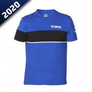 audemar:T-SHIRT HOMME WILTSHIR-YAMAHA PADDOCK BLUE 2020