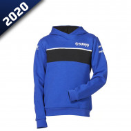 audemar:SWEAT CAPUCHE ENFANT COLOGNE-YAMAHA PADDOCK BLUE 2020