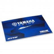 audemar:STICKER DE PROTECTION POUR ORDINATEUR PORTABLE YAMAHA RACING
