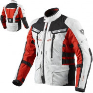 audemar:Veste REV'IT Sand 2 Argent et Rouge