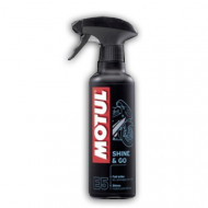 audemar:Nettoyant Lustreur MOTUL Shine and Go 400ml